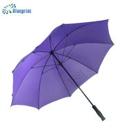 custom printed golf umbrella windproof double layer shenzhen