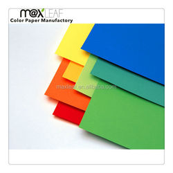 Hot products to sell online 225gsm A4 color cardboard paper