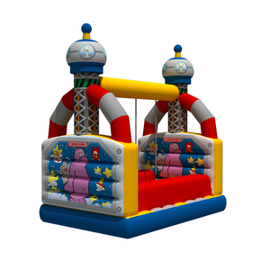 Plato mini obstacle course Swing inflatable indoor sport game