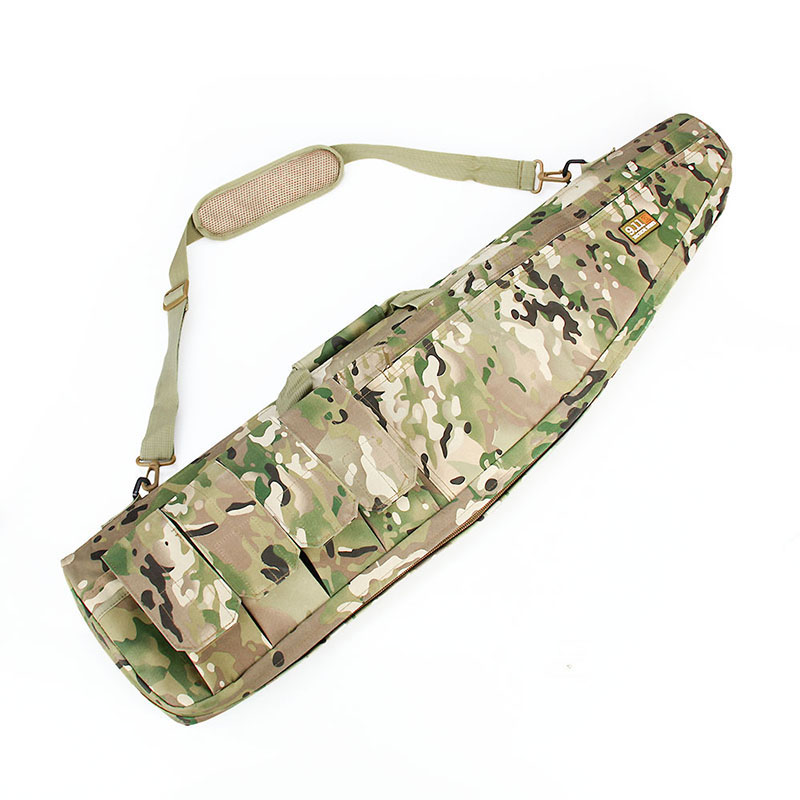 12-0003 Camouflage Tactical Military Airsoft Painball Gun Combat Sniper Arms Hunting Carrying Bag