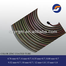 Color zinc motorcycle brake lining oil and gas pipe AF
