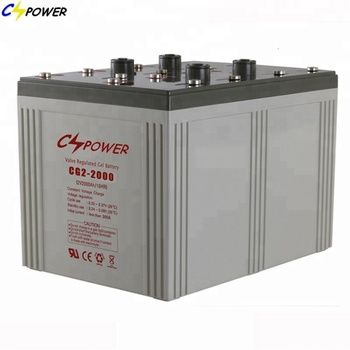 2000Ah 48V Off Grid Long Life Deep Cycle Gel Solar System Battery