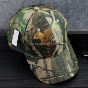 Poplar outdoor sporting goods unisex short brimmed hats camouflage military style caps