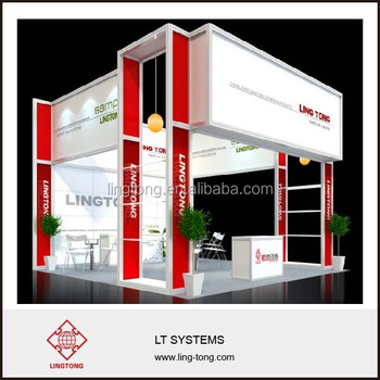 Exhibition Booth German : Aluminium exhibition booth design for germany booth system view