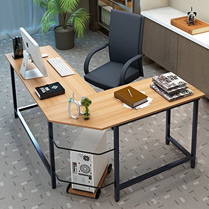 Modern  Home Office L-Shaped Corner Computer Desk Table
