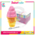 Ice cream candy container press candy jelly bean