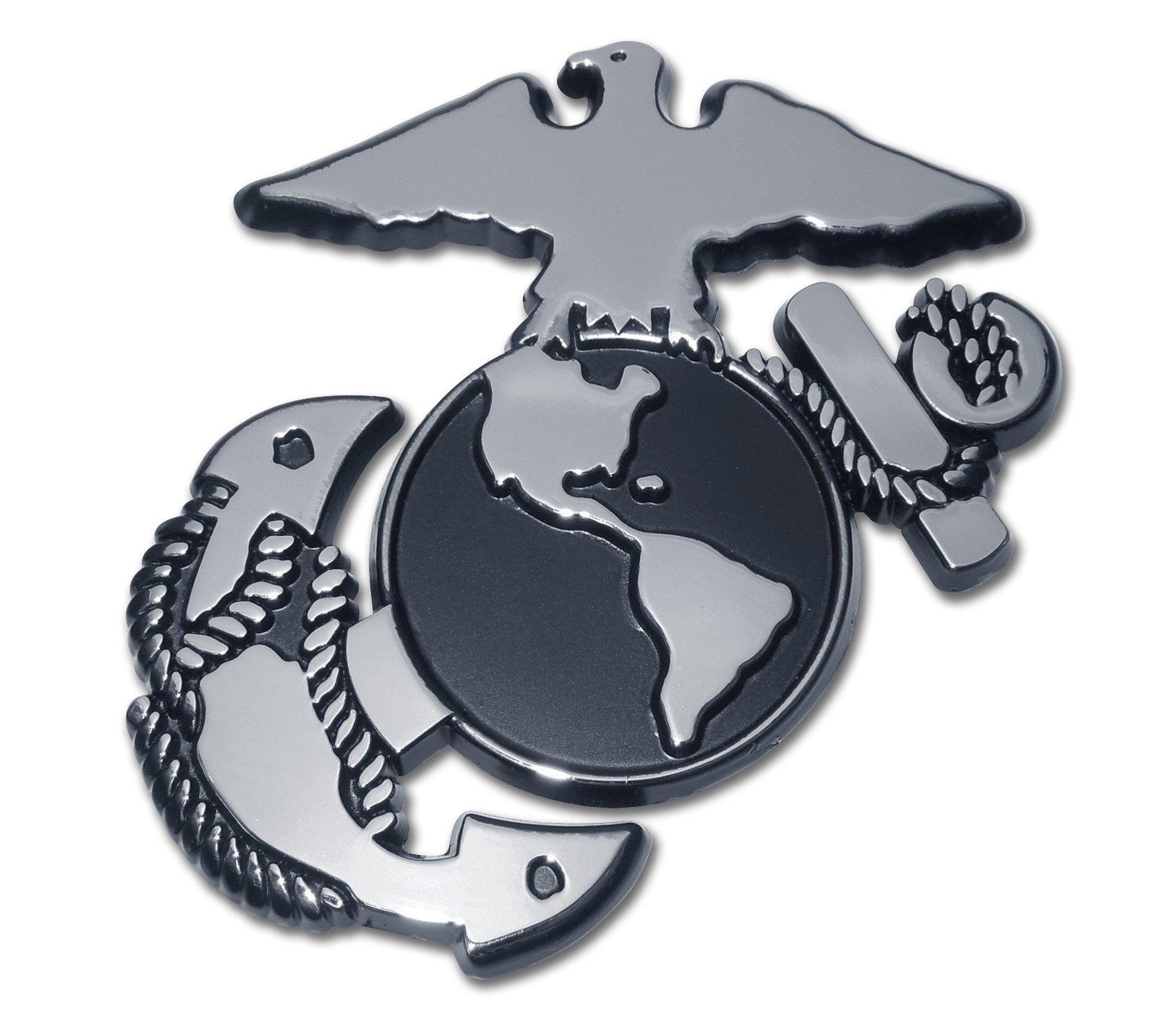 Buy United States Us Marine Corps Usmc Ega Chrome Plated Premium