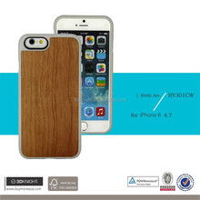 Newest Series wood case For iPhone 6 iPhone 6s Wooden tpu Cover Case Five Wood colors with retail Package