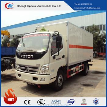 b2deb532ef 4wd Box Truck Forland 4x4 3 Ton Small Refrigerator Box Truck - Buy 4 ...