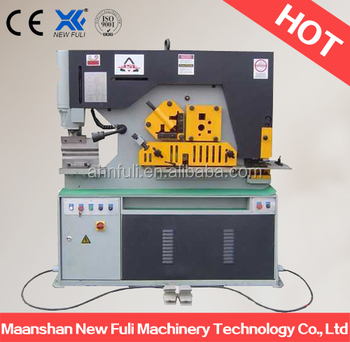 model 16 type hydraulic iron worker, angle steel Channel iron cutting machine
