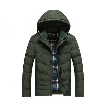 Healong winter clothing wholesale down coat outdoor custom jacket men