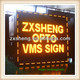 china market electronic electronic LED VMS trailer sign / VMS board