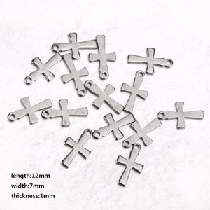 Faith Cross Pendant Charm Christmas Pendent For Jewelry Necklace Bracelet Making
