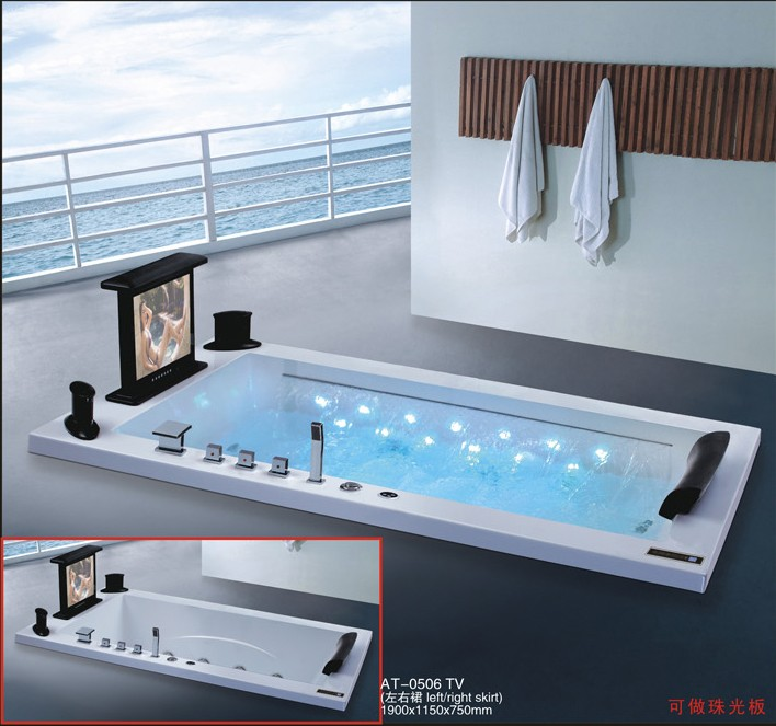 Cheap Freestanding Bath Tub For Indoor Whirlpool Massage ...