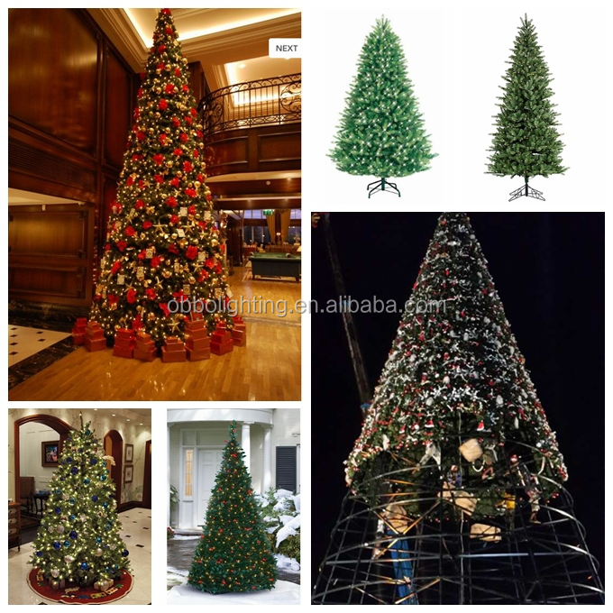 Outdoor Christmas Tree Ball Lights Large Red Ball Tree Christmas Decoration Tree  Light Small Round Ball