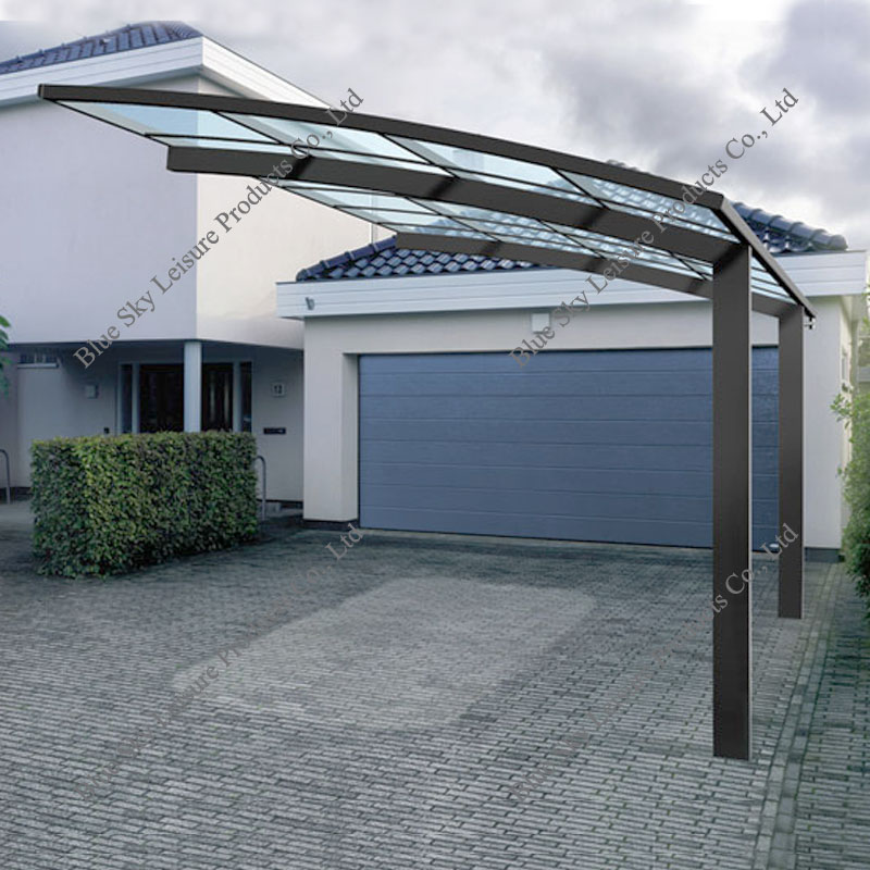 Polycarbonate Roofing Aluminum Portable Garage Canopy ...