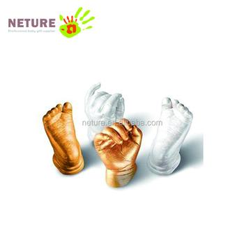 Baby Casting Kit 3d Plaster Infant Handprints And Footprints Keepsakes Life  Casting Mold Kit - Buy Baby Casting Kit,Handprint And Footprint
