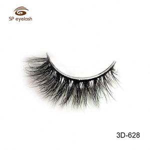 Black Cotton Band 3D Styles Fake Mink Eyelashes