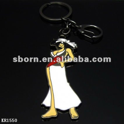 2012 newest metal 3d anime keychain