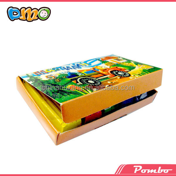 2015 Professional Factory Supply 6 Color Kids Plasticine Modelling ...