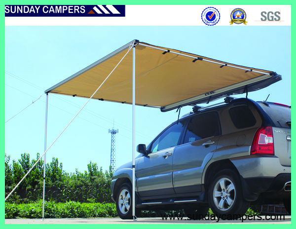 Camping Wholesale 4wd Off Road Car Roof Tent Accessories 4x4 Canvas Awning Vehicle Awning Tent