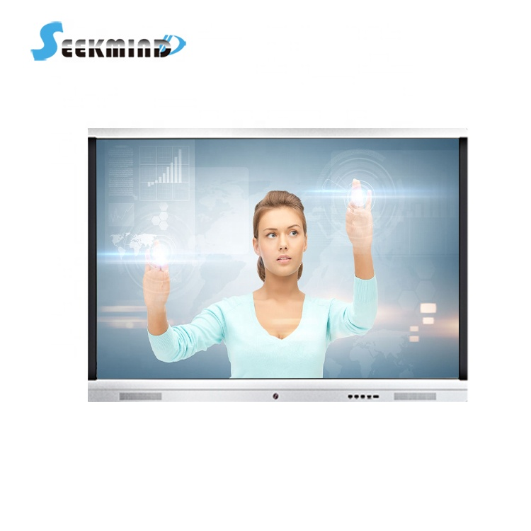 55 นิ้ว touch สมาร์ทบอร์ด LCD Touch Screen tv Interactive Flat Panel