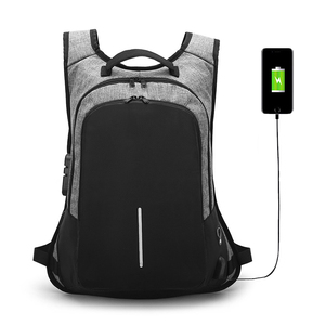 Multifunction mini anti theft backpack waterproof custom backpacking USB charging bag laptop backpack