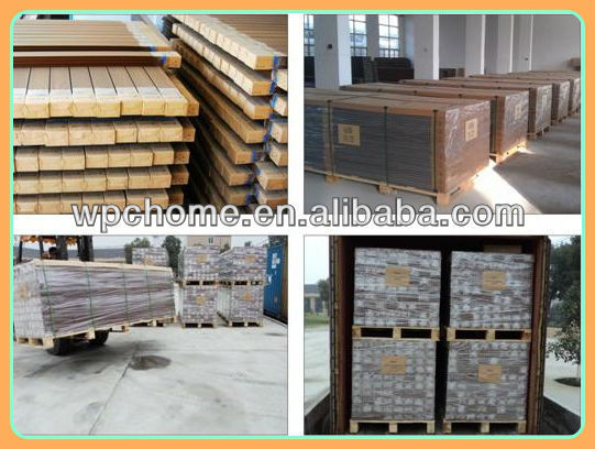 Exterior Wall Panels Use Wpc, Outdoor Wall Wood Paneling, Wpc Wall Panel  With Embossed