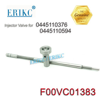 F 00V C01 383 nozzle injection valve F00VC01383 common rail fuel diesel injector 0445110376 valve