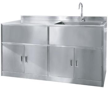 Roestvrijstalen keuken wastafel kast scrub unit buy vrijstaande