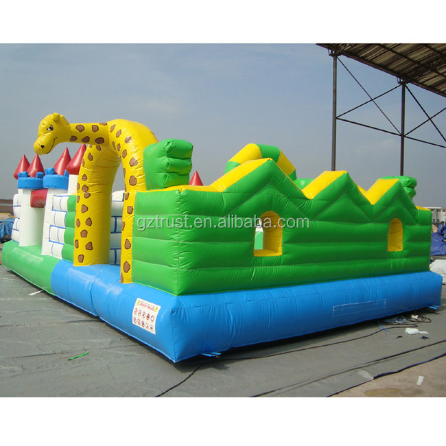 Water proof and Fire retardant inflatable princess bouncy castles inflatable