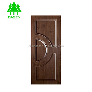 2018 new design decorative melamine laminate MDF door skin for inner door