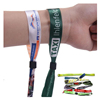Customized Event Festival Fabric Woven Wristband