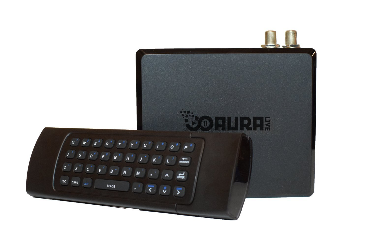 Android TV Box Watch Any Movie, TV Show, and Local Live TV with DVR includes QWERTY Remote, Antenna, and Digital TV Tuner