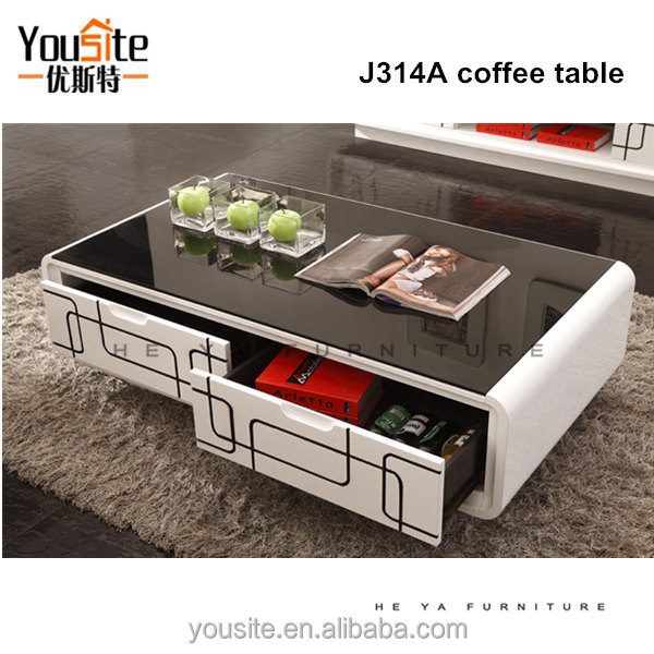 Display Home Furniture For Wood Gl Center Table J301a