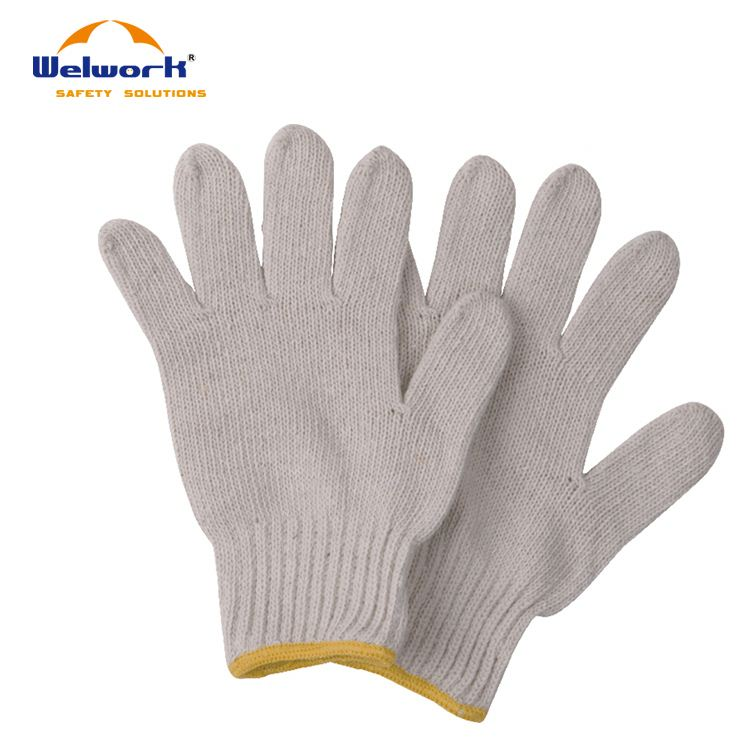 Hot Selling Eco-friendly White Cotton Hand Gloves