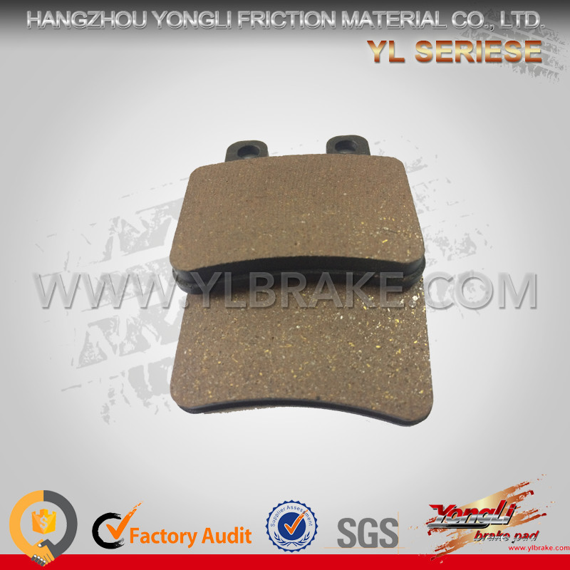 Professional Factory Brake Pads Sinter Pads For DERBI Cross City 125