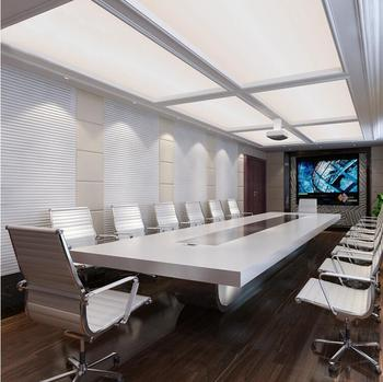 Luxury Design Artificial Marble Stone Boardroom Conference Table - Stone conference table