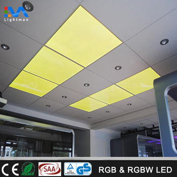 600x600 Rgb Led Drop Ceiling Light Panel 60x60 595 Suspended Rgbw Fixture