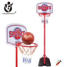 high level entertainment team toys adjustable stand basketball hoop system for sale