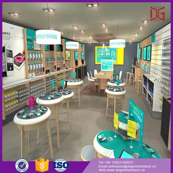Shop Counter Design For Mobile Phone Shop Decoration - Buy Shop ...