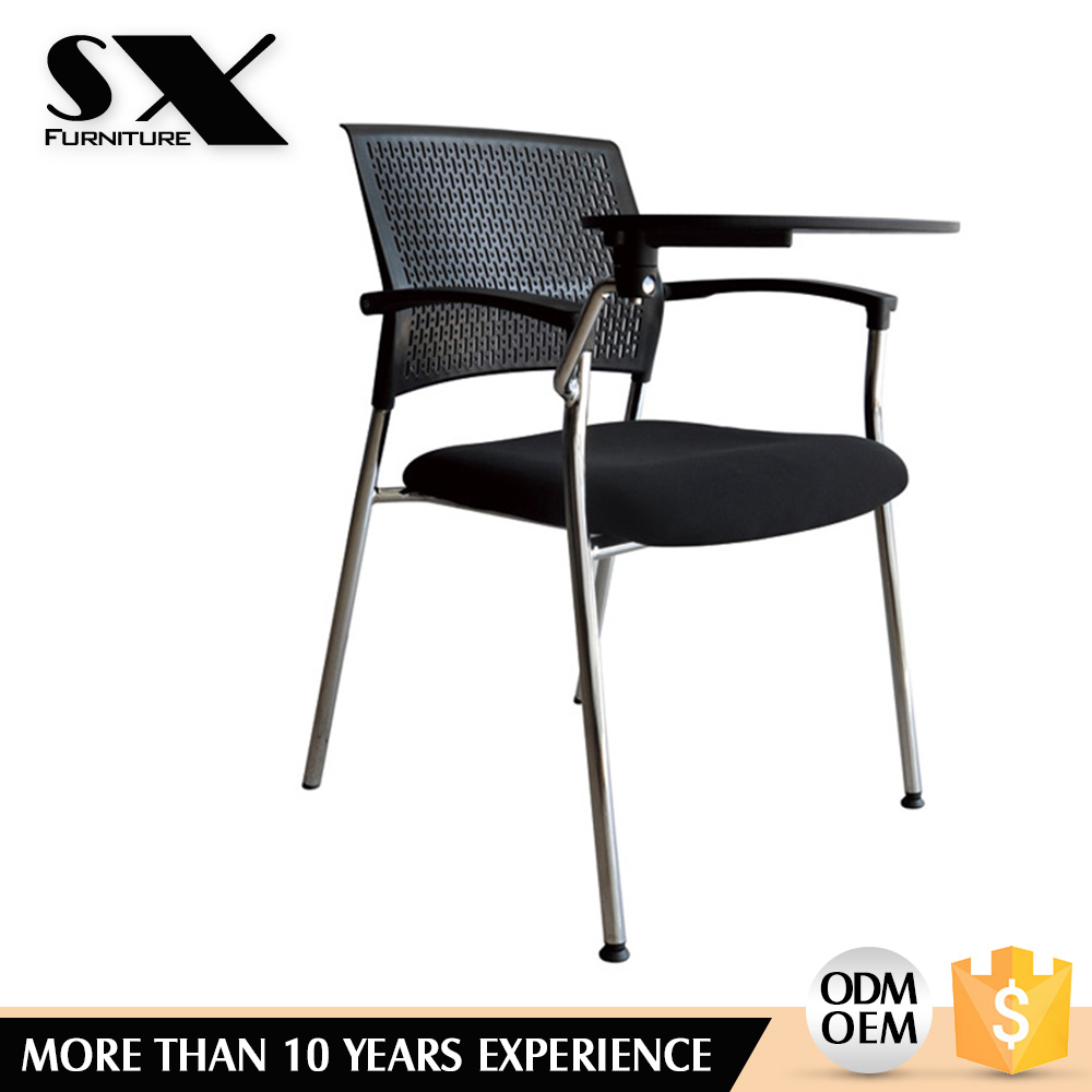 Chair With Table Meeting Room Mesh Folding Chair With