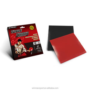 New promotion 4mm thick durable double power ITTF table tennis rubber