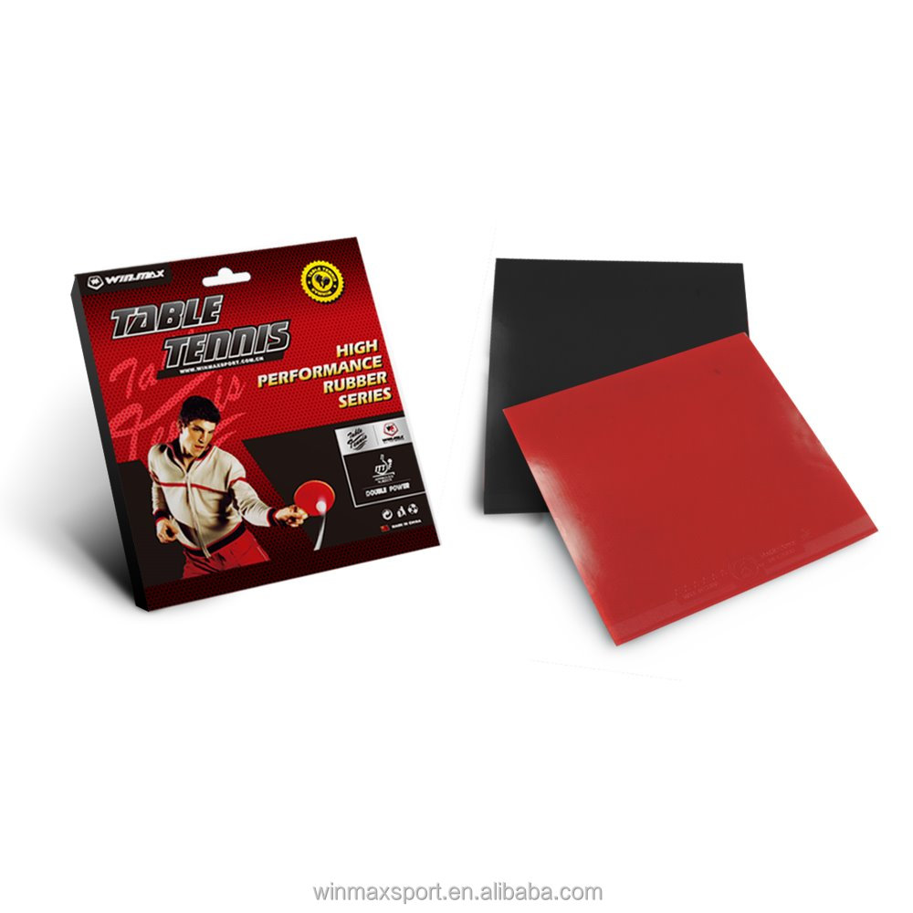 New promption 4mm thick durable double power ITTF table tennis rubber