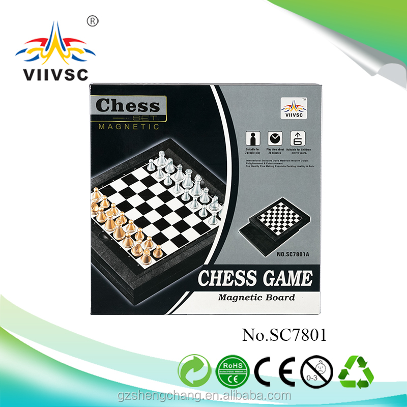 High quality chess game magnetic board Chess tournament