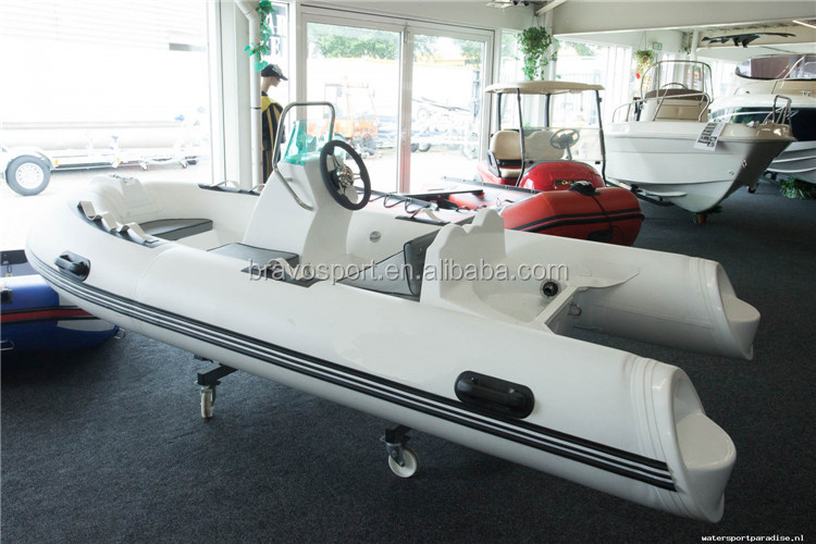 Small Rib Ce Indonesia 5 Person Man Used Rigid Inflatable Boat For Sale