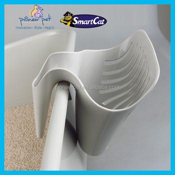 Cat Litter Tray Poop Scoop - Grey - Buy Cat Litter Tray Poop Scoop,Cat  Litter Scooper,Pooper Scooper Product on Alibaba com
