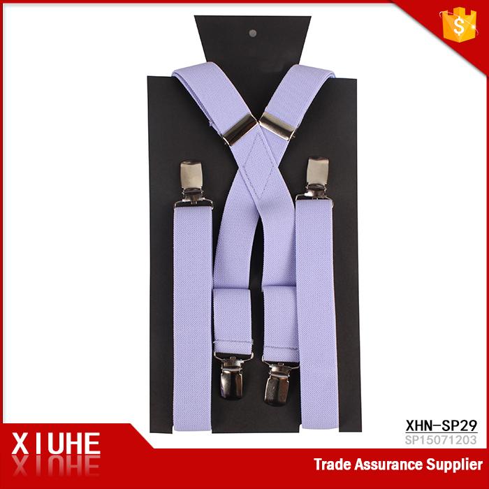 Alibaba Wholesale Cheap Price Holiday Suspenders Purple Plain ...