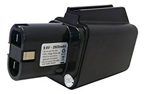 Replacement battery for Bosch 9.6Volt cordless drill battery for 921VSR, 3051VSRK, 3050VSRK