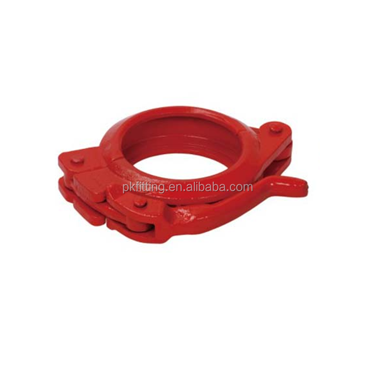 New arrive concrete pump pipe clamp rubber gasket for sale